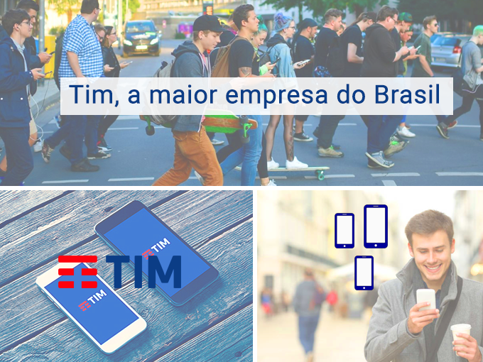 Tim, a empresa mais importante do Brasil